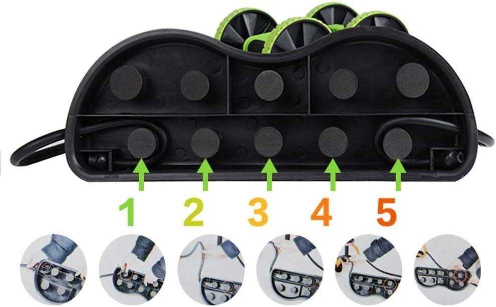 M/áquina para Hacer Ejercicios Abdominales Ideal para Hombres y Mujeres Gimnasio en casa Pr/áctico de Costa Tire de GWM Accesorios para Equipos de Fitness Sports Core Double AB Roller Equipo Deportivo