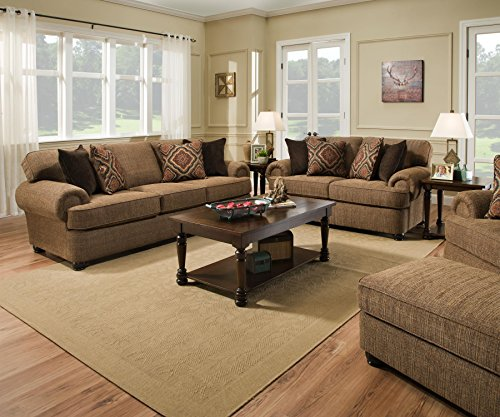 Simmons Upholstery 7533BR-03 Shelby Multi Sofa