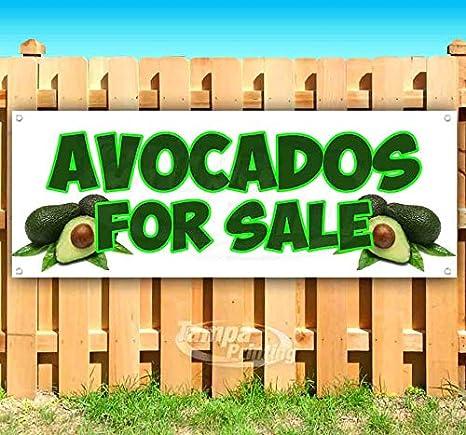 Amazon.com: Avocados para la venta cartel de vinilo ...