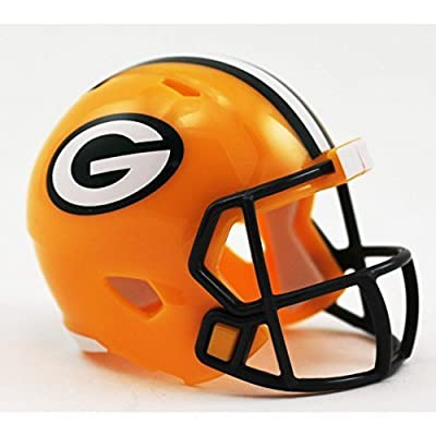 GREEN BAY PACKERS NFL Riddell Speed POCKET PRO MICRO / POCKET-SIZE / MINI Football Helmet