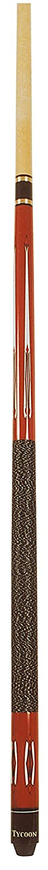 Palo de billar GamePoint Tycoon TC-1 147 cm, desmontable en 2 piezas, con estuche Wurzel 1//1 color rojo