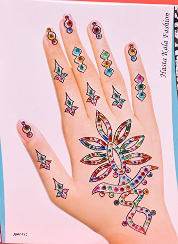 Wedding Discounts and Offers on Henna Stickers (Henna Earth Tattoo)