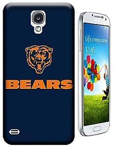 Beautyfayes NFL Chicago Bears Team Logo Bear's Head TPU Case for Samsung Galaxy S4