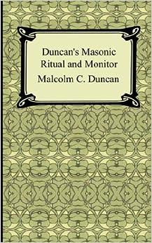 Book Duncan's Masonic Ritual and Monitor