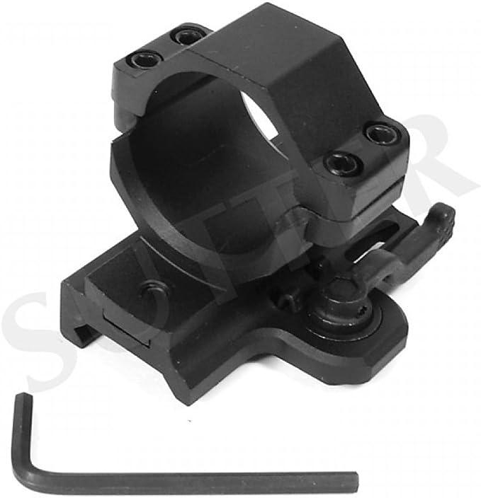 Montaggio per mirino e cannocchiale Ottica Accia SUTTER Premium Coppia Montaggio con sgancio rapido d=30mm per 19-22mm