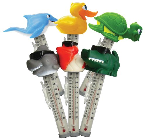 Cypress PS225+785DIS/PVC 6 Styles Floating Animal Thermometer, - Cypress Tub