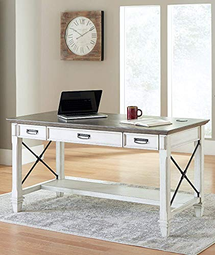 Martin Furniture Writing Table, White