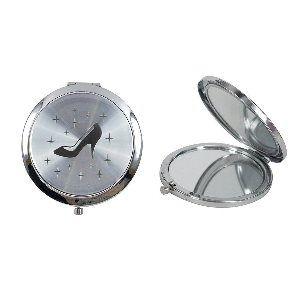 Amazon.com: Cinderella High Heel Shoe Design Compact Mirror Favor 12PCS Quinceanera/Sweet 16/ Zapatilla de Cenicienta Birthday Gift (White): Health ...