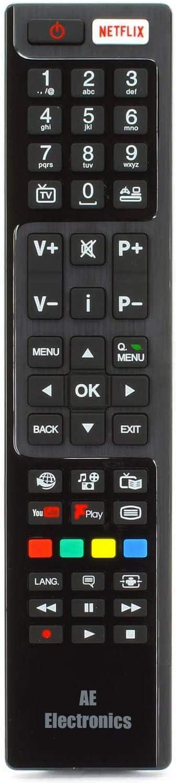 Ae® Luxor/Hitachi TV Remote Control RC4848 / RC4848F for ...