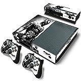 Xbox One Console Skin Decal Sticker Batman Arkham + 2 Controller & Kinect Skins Set