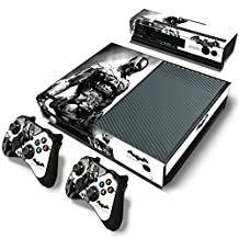 Xbox One Console Skin Decal Sticker Batman Arkham + 2 Controller & Kinect Skins Set