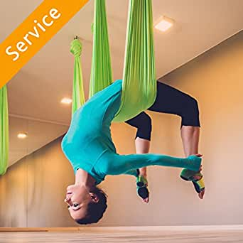 Aerial Yoga Class - 1 Session (trial) - In-Studio: Amazon ...