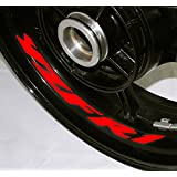 AFBA Yamaha YZF R1 v2 Inner Rim Motorcycle Sticker Decal Stripe Gloss Red