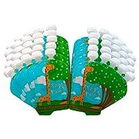 Bolsa de alimentos reutilizable (paquete de 50, 5 oz) Alimentos para bebés con cremallera doble a prueba de fugas - Bolsa Yaya