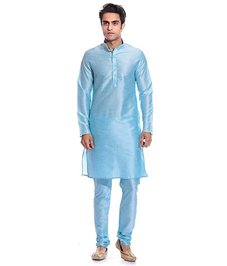 cf1549ed83 Larwa Men's Designer Kurta and Churidar Set: Amazon.in: Clothing ...