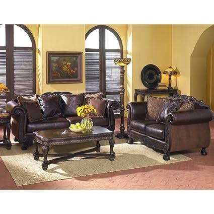 Amazon.com: Monaco Thyme Living Room Set by Ashley Furniture ...