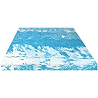 BioPEDIC 4 Gel Swirl Memory Foam Mattress Topper, Full