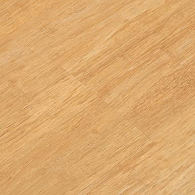 Cali Bamboo - Cali Vinyl Plus Cork-Backed Vinyl Floor, Extra Wide, Natural Wood Grain - Sample