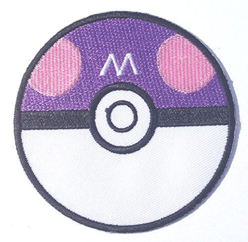 Masterball Embroidered Iron/Sew on Patch - 3