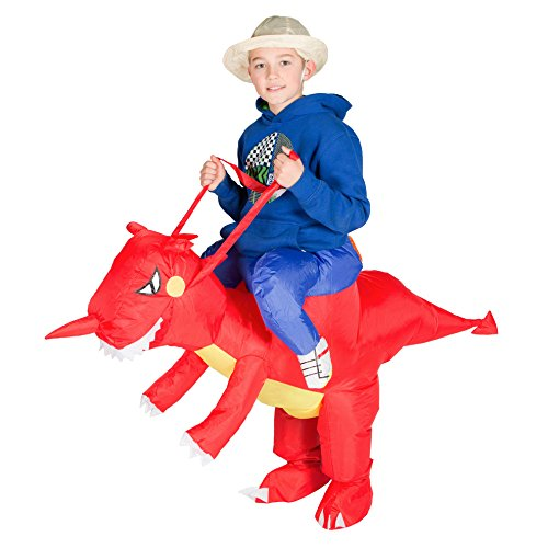 Bodysocks Kids Inflatable Dragon Fancy Dress -