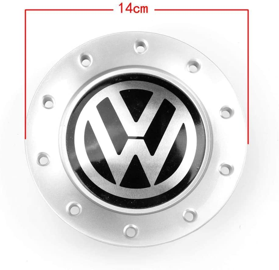 4pcs 140mm 10 holes OEM Chrome Wheel Center Hub Cap Cover 6Q0 601 149 G For VW Volkswagen Polo 6Q0601149G
