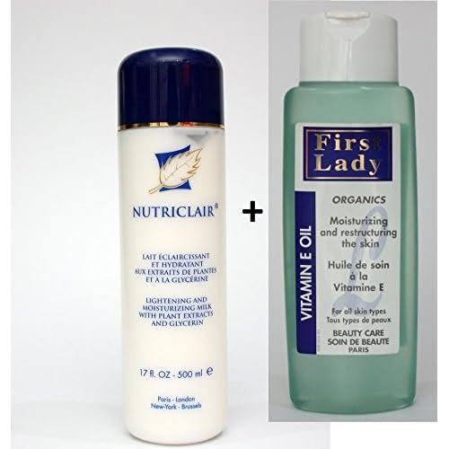 Nutriclair - Lait Eclaircissant et Hydratant à la Glycérine - tout en 1 - 500 ML
