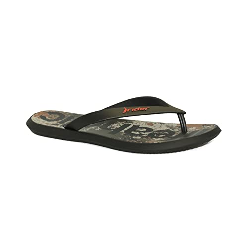 371de36473e5 Rider Men s R1 Energy VI Ad Black Flip-Flops-8 UK India (42 EU ...