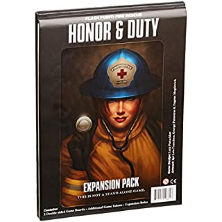 Flash Point Honor and Duty Board Game