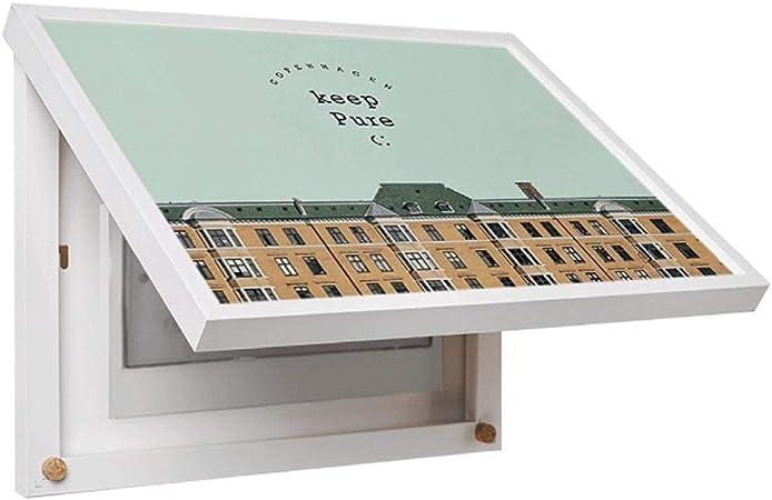 Marco decorativo de la caja de la caja del medidor de color, arte simple, cubierta de