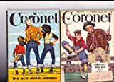 2 CORONET Magazines 1949 and 1950