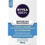 NIVEA MEN Sensitive Skin Cooling After Shave Balm, 100 mL bottle