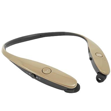 Retráctil estéreo inalámbrica Bluetooth Headset/auriculares para LG V30/V30 +/G6/