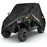NEVERLAND Heavy UTV Storage Cover for Polaris RZR Yamaha Can-Am Defender Honda Pioneer Kawasaki Teryx Mule 2-3 Passenger