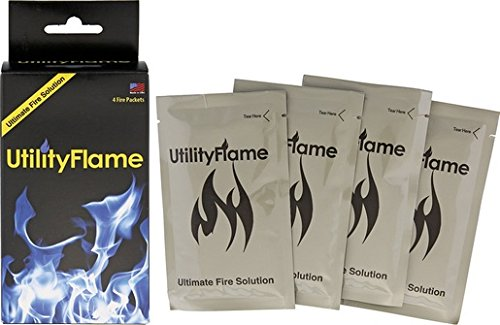 Utility Flame UF125RBNS-BRK Fire Packets 37ml