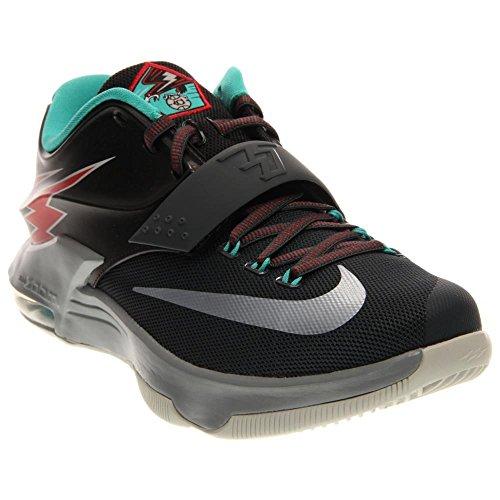 nike KD VII zapatillas de baloncesto hombre 653996 zapatillas kevin durant Classic Charcoal/Light Retro/Dove Grey