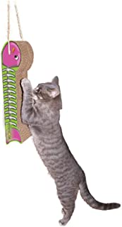 product image for Imperial Cat Fish On A Line Hanging Scratch n Shape - BLUE/LIME