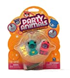 jellie toys - Party Animals 2 Mini Bears Jellie the Jelly Fish (Ocean Party) Hoppy the Frog (Garden Party)