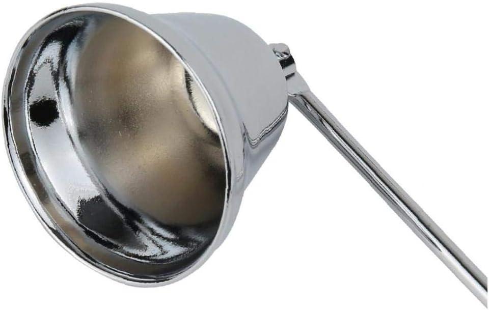 OMMO LEBEINDR Kerzenl/öscher Mit Langem Griff Edelstahl Kerzenversorgung Sicher Extinguish Glockenform Kerzenl/öscher Haushaltsprodukte