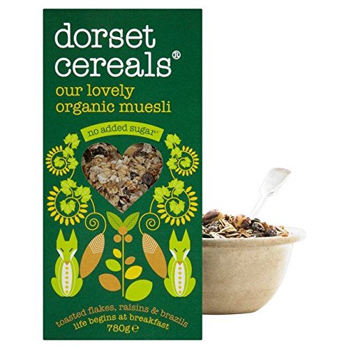 Dorset Cereals Organic Muesli 780g - Pack of 2 by Dorset Cereals