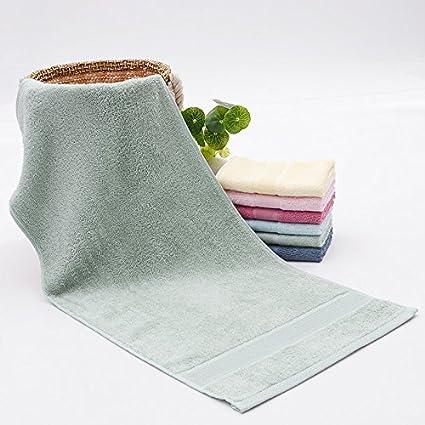 Carbón de bambú fibra mmynl bambú toalla toalla adultos lavado toallas de la cara de parejas
