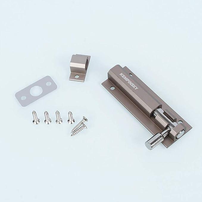 color n/íquel universal calidad confiable Pernos de aleaci/ón de aluminio de alta calidad para puertas y ventanas