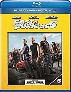 Fast & Furious 6 - Extended Edition (Blu-ray + DVD + Digital HD UltraViolet)