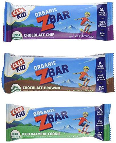 (Clif Kid Organic Z Bar - Variety Pack - 1.27 oz - 36 count)