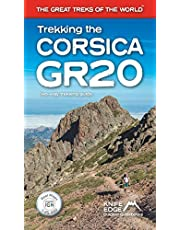 Trekking the Corsica GR20: Two-Way Trekking Guide: Real IGN Maps 1:25,000