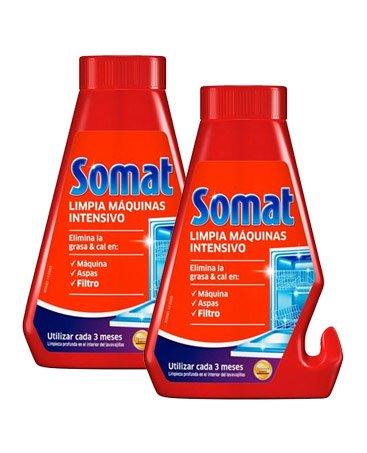 Somat Lavavajillas Limpia Máquinas 2 x 250 ml - Total: 500 ml ...