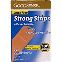 "Good Sense Strong Strips 1"""" Bandages Case Pack 24"