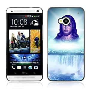 YOYOSHOP [Jesus Waterfall] HTC One M7 Case