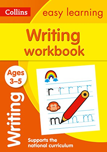 Writing Workbook Ages 3-5: Reception English Home Learning and School Resources from the Publisher of Revision Practice Guides, Workbooks, and Activities. (Collins Easy Learning Preschool)