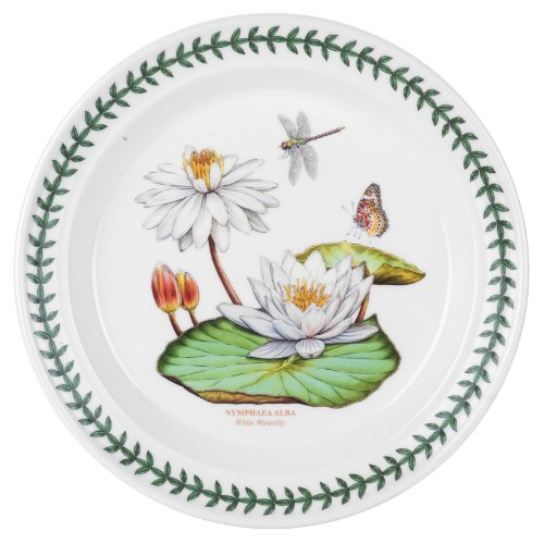 Portmeirion Exotic Botanic Garden Salad Plate with White Water Lily ()