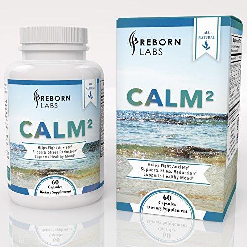 Anxiété soulagement Pills | Action rapide anxiété et Stress Relief | Ingrédients - L-théanine, Ashwagandha, GABA & curcuma, à l'anxiété naturelle et soutien Stress dos scientifiquement | 60 capsules